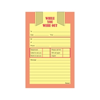TELEPHONE MESSAGE PAD - WHILE YOU WERE OUT