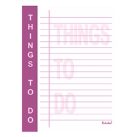 THINGS TO DO PAD - PURPLE
