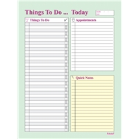 THINGS TO DO PAD - MULTI COLOR