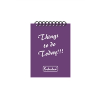 THINGS TO DO PAD - SPIRAL BOUND
