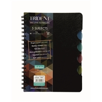 B5 TRIDENT FIVE SUBJECT NOTEBOOK