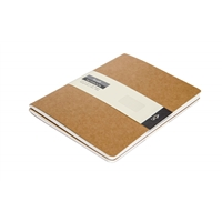 A5 KRAFT NOTEBOOK - DOT GRID (PACK OF 2)